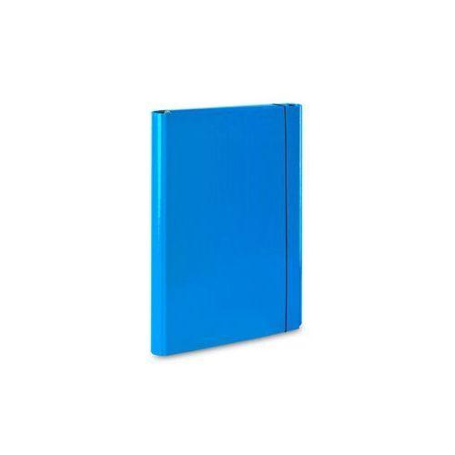 Teczka skrzydłowa z gumką caribic a4 339/19 jasna niebieska marki Vaupe
