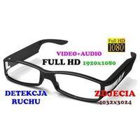 Szpiegowskie Okulary FULL HD Nagrywające Obraz i Dźwięk + Detekcja Ruchu itd., kup u jednego z partnerów