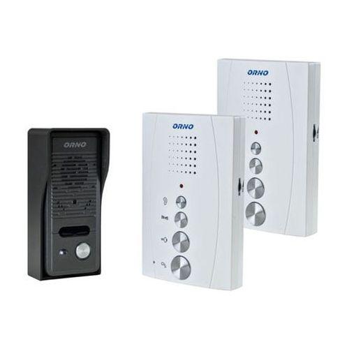 Orno Zestaw domofonowy jednorodzinny z interkomem, bezsłuchawkowy ELUVIO INTERCOM OR-DOM-RE-920/W z kategorii Domofony i wideodomofony