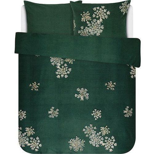 Essenza Pościel lauren zielona 240 x 220 cm z 2 poszewkami na poduszki 60 x 70 cm (8715944613163)