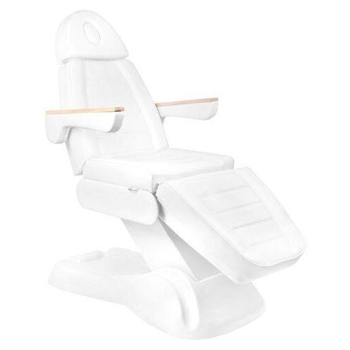 Elektryczny Fotel Kosmetyczny Lux 273b 3 Silniki Biały