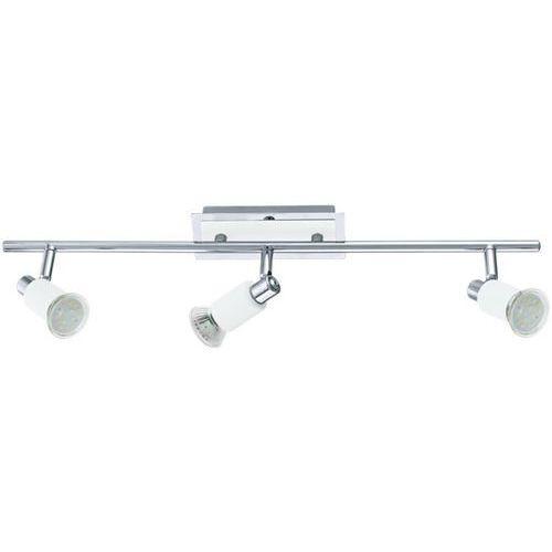 Listwa Eglo Eridan 90834 lampa sufitowa plafon spot 3x3W GU10 chrom/biały (9002759908348)