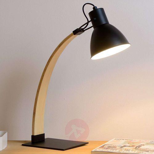 Lucide 03613/01/30 - lampa stołowa curf 1xe27/60w/230v czarna