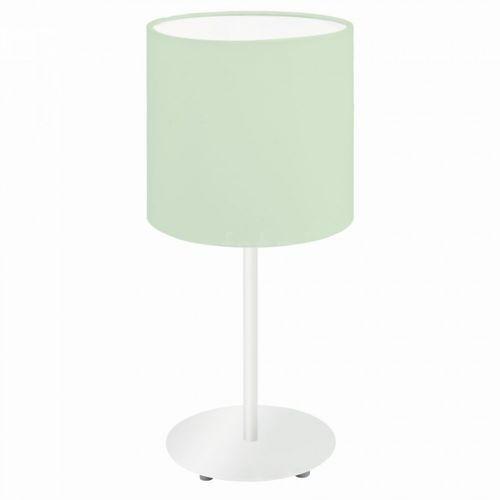 Lampka Eglo PASTERI-P 97382 stołowa nocna 1x60W E27 zielona, 97382