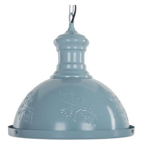 Lampa wisząca niebieska didessa marki Beliani