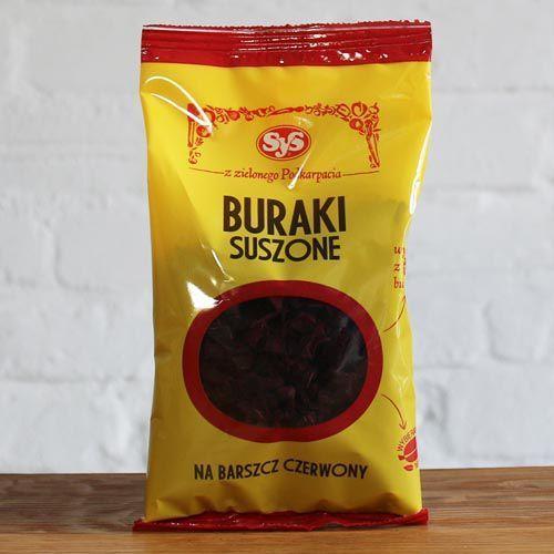 Buraki Suszone 100 g - produkt z kategorii- Warzywa i owoce