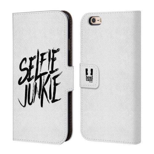 Etui portfel na telefon - selfie craze white marki Head case