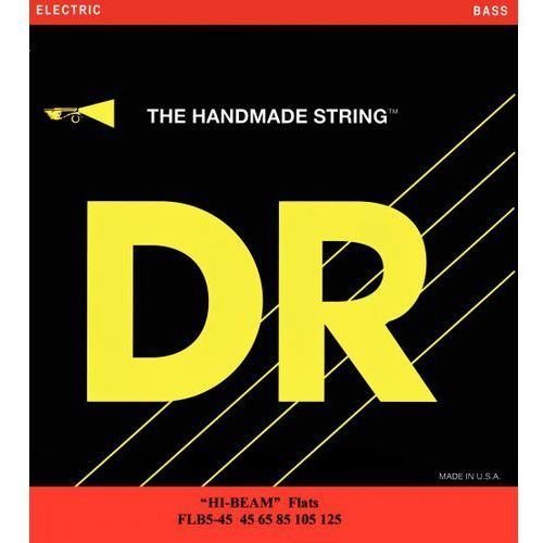 hi-beam flats ″ struny do gitary basowej, 5-string, heavy,.045-.125 marki Dr