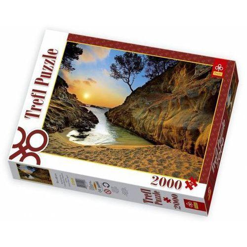Trefl  - wschod słońca costa brava - puzzle, 2000 elementów - trefl