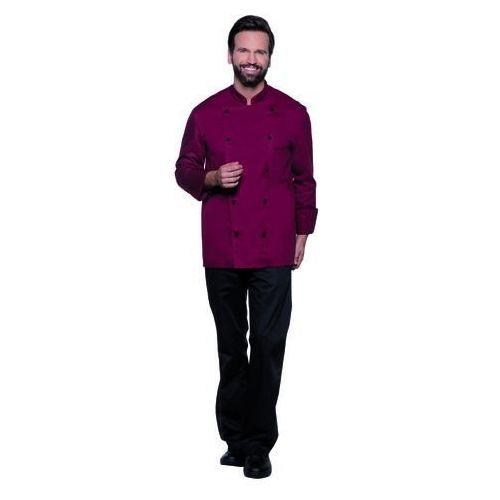 Bluza kucharska męska, rozmiar 62, bordowa | , thomas marki Karlowsky