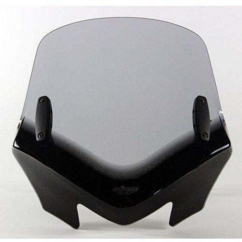 Uniwersalna szyba MRA do motocykli bez owiewek, forma - VFSZ1 (przyciemniana)