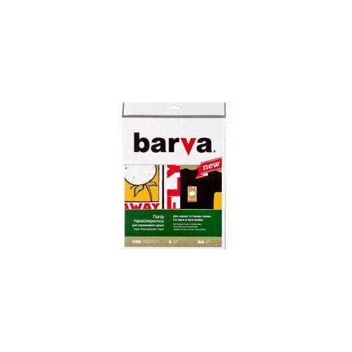 Papier Termotransferowy BARVA do ciemnych tkanin A4 190 gr - 5 szt. (4823068101290)
