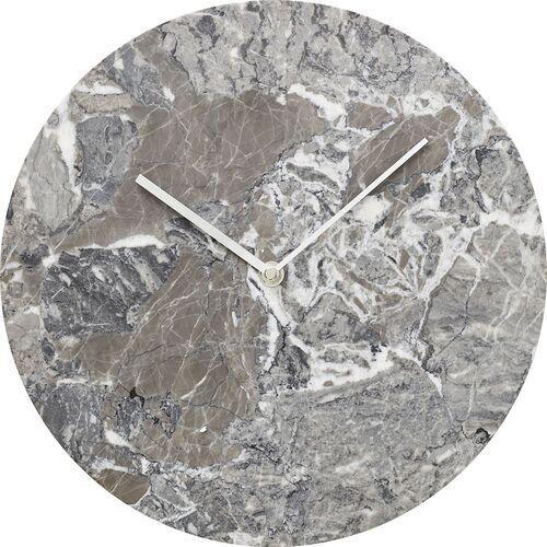Zegar ścienny szary marmur norm (8200199) marki Menu