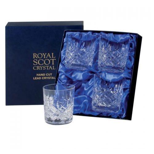 Royal scot crystal szklanki london do whisky 330ml 4szt.