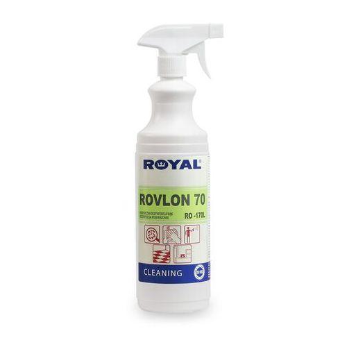 Płyn do dezynfekcji rąk i odkażania powierzchni Rovlon 70 Płyn do dezynfekcji powierzchni, płyn do dezynfekcji w gastronomi, płyn do dezynfekcji rąk