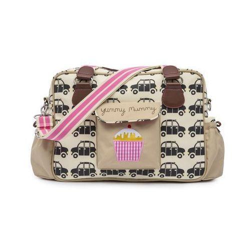 torba do wózka yummy mummy, czarny/brązowy marki Pink lining