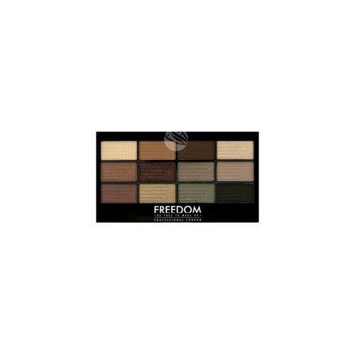 pro eyeshadow palette (w) paleta 12 cieni do powiek stunning smokes 12g marki Freedom