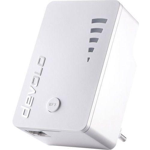Wzmacniacz sygnału, repeater Wi-Fi Devolo WiFi Repeater ac 9789, Szybkość transferu WLAN: 1.2 Gbit/s, LAN (10/100/1000 MBit/s), 2.4 GHz, 5 GHz