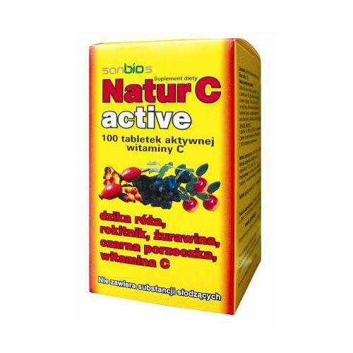 Natur C active – witamina C prosto z natury.