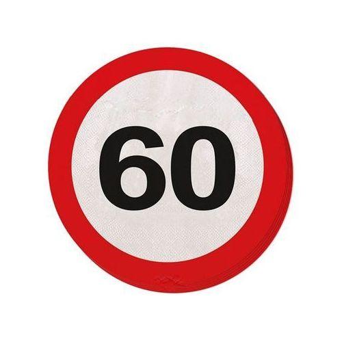 Serwetki Znak zakazu 60tka - 33 cm - 20 szt. (8714572283601)