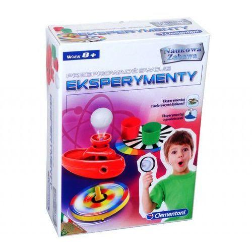 Clementoni , zabawka naukowa eksperymenty (8005125608881)