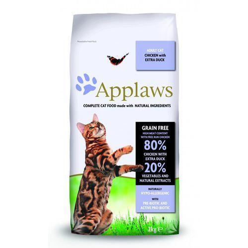 2 kg/1,8 kg + applaws cat, polędwica z tuńczyka, 3 x 30 g w super cenie! - z kurczakiem i kaczką marki Applaws
