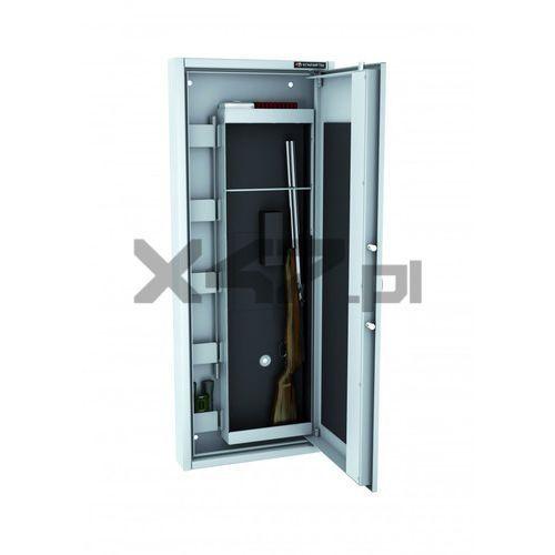 Szafa na broń długą mlb ścienna el s1 - zamek elektroniczny marki Konsmetal