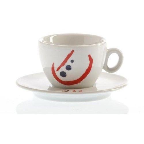 Zestaw filiżanek Espresso i Cappuccino La Brasiliana Alba