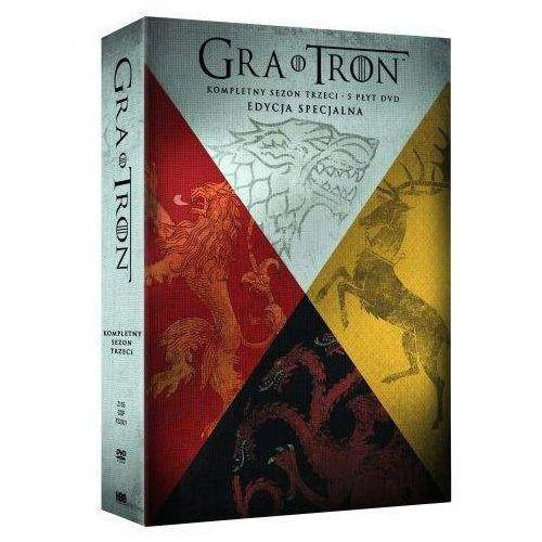 GRA O TRON, SEZON 3 (5 DVD) DIGIPACK (7321910328071) - OKAZJE