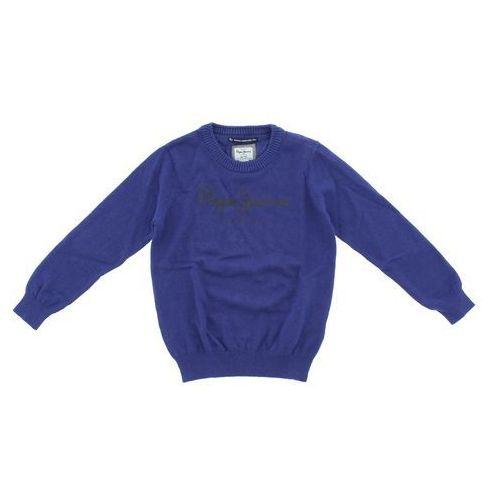 Pepe Jeans Sweter dziecięcy Niebieski 8 lat