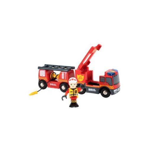 PLAYMOBIL Pojazd Straży Pożarnej z efektami świetlnymi idźwiękowymi 33811
