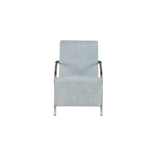 Woood fotel sztruksowy błękitny - woood 340363-lb