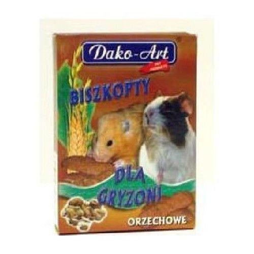 Dako art biszkopty dla gryzoni orzechowe 50g marki Dako-art