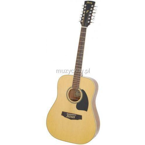OKAZJA - pf1512-nt - gitara akustyczna 12-strunowa marki Ibanez