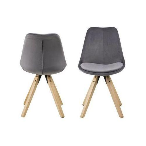 Krzesło Dima dark grey, kolor szary