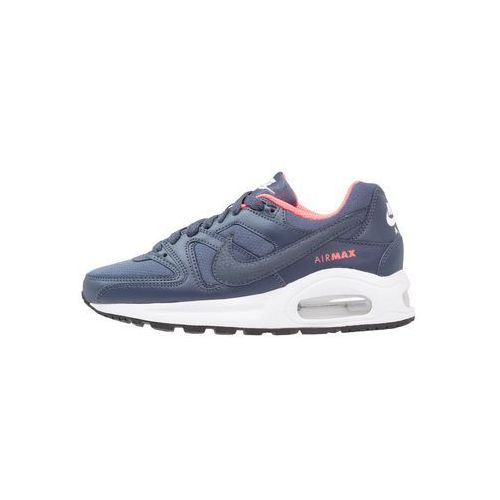 Nike  sportswear air max command flex tenisówki i trampki midnight navy/white/dark obsid