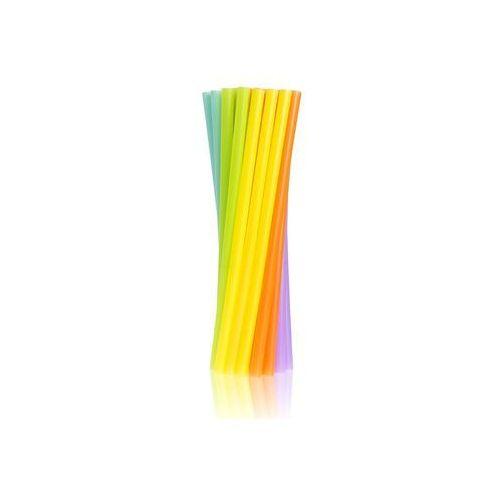 Słomki - rurki jumbo kolorowe proste - 24 cm - 250 szt. marki Godan