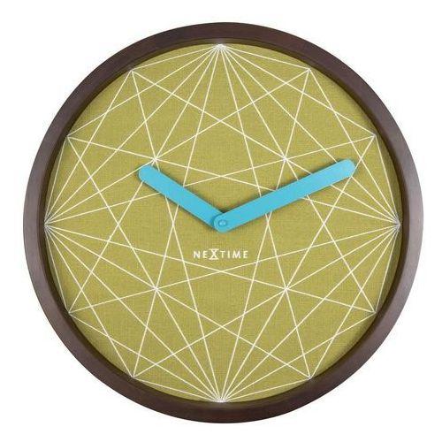 Zegar ścienny Calmer geometryczny, 3204