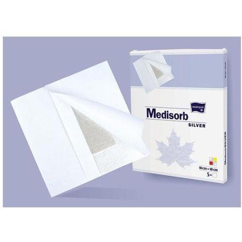 Opatrunek medisorb silver pad, 10 x 10 cm - 5 szt. marki Tzmo