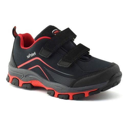 American club Dziecięce buty sportowe wt09/19 - czerwony ||czarny
