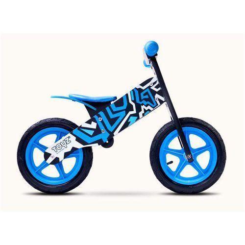 Rowerek biegowy dla dzieci ZAP BLACK/BLUE