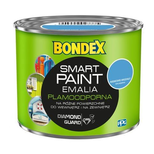 Emalia akrylowa smart paint niebieskie migdały 0,5 l marki Bondex