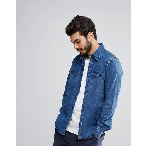 Levi's barstow western shirt brooklyn - blue marki Levis