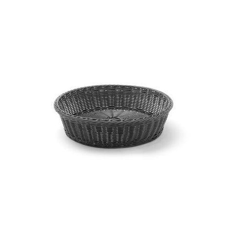 Koszyk do pieczywa czarny okrągły śr. 40 cm marki Hendi