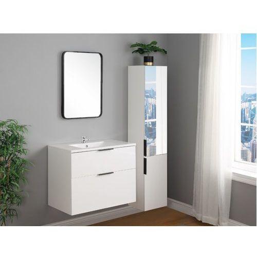 Vente-unique Zestaw maeva – meble łazienkowe – kolor biały