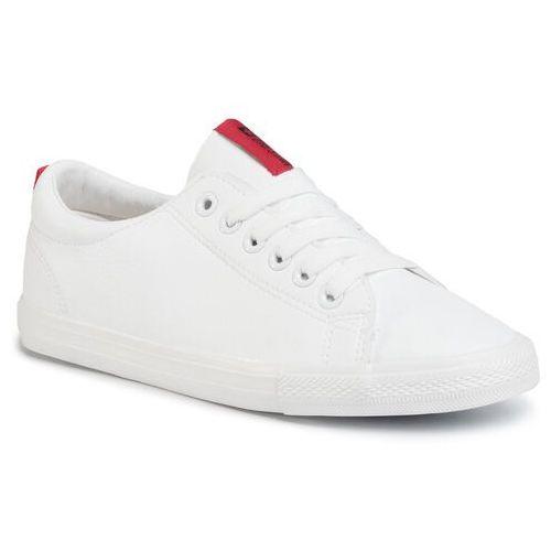 Tenisówki - dd274685 101 white marki Big star