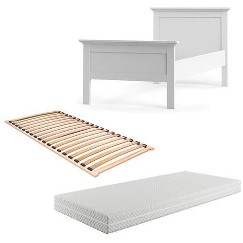 PARIS zestaw łóżko - materac - stelaż 90 x 200cm
