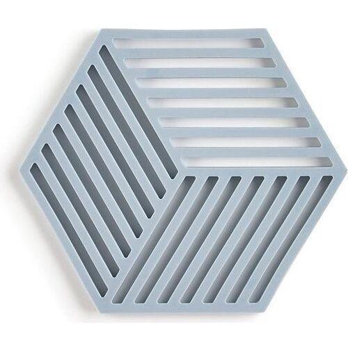 Podstawka pod gorące naczynia hexagon szaroniebieska marki Zone denmark
