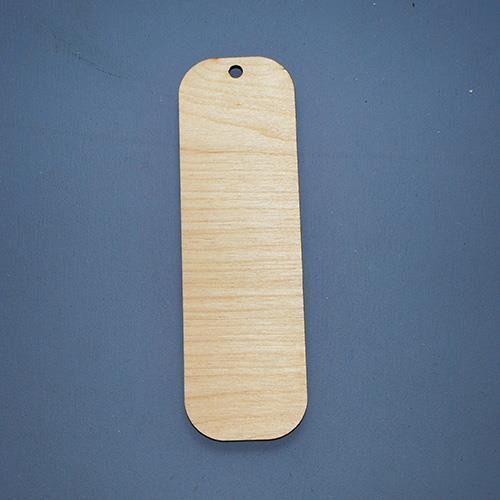 Prosta zakładka drewniana do rękodzieła - 15 - 15 marki Eko deco