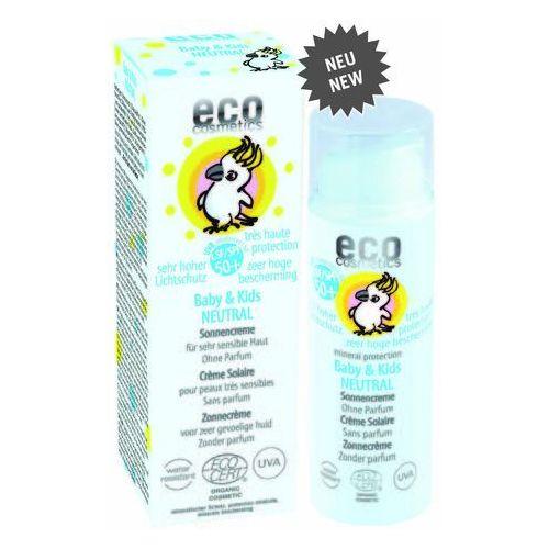 Eco cosmetics Baby & kids neutral krem na słońce lsf/spf 50+ neutralny zapachowo (4033981732581)